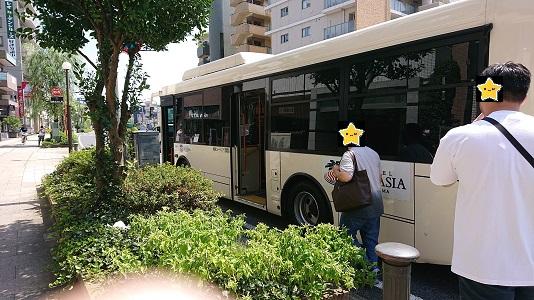 舞浜ユーラシア‗浦安駅バス